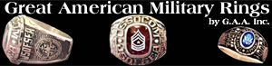 Great American Military Rings by G.A.A. Inc.
